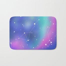 Unicorn Night Sky Bath Mat