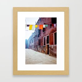 Clothesline Framed Art Print