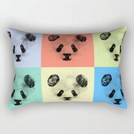 Panda Panda Panda Rectangular Pillow