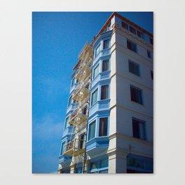 Sky Blue Escape Canvas Print