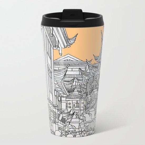 Street in China Metal Travel Mug