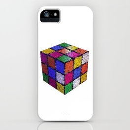 The color cube iPhone Case
