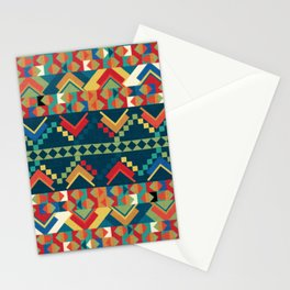 Indi-abstract#12 Stationery Cards