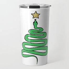 Christmas Snake Travel Mug
