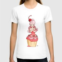 dessert T-shirts featuring Dessert Princess by Kaylynn Franco