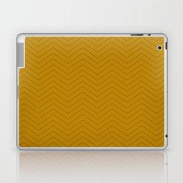 Mustard Zigzag Laptop & iPad Skin