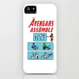 Consumer Contractor superhero funny gift iPhone Case