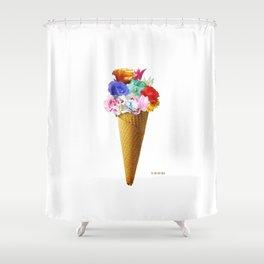 Flowers Flavor I  Shower Curtain