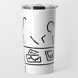 meeting analyst banker manager Travel Mug