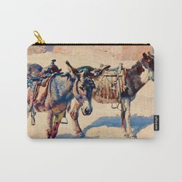 """Western Art Vintage """"Patience"""" Carry-All Pouch"""