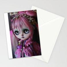 LITTLE OCTOPUS CUSTOM BLYTHE ART DOLL PINK NAVY Stationery Cards