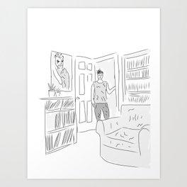 Chellise Art Print