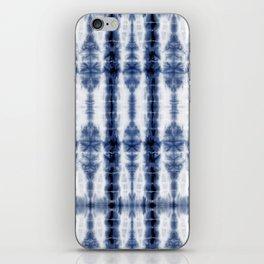 Tiki Shibori Blue iPhone Skin
