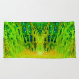 acrylic mirror Beach Towel