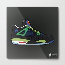"Air Jordan IV ""Doernbecher"" Metal Print"