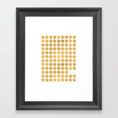 The Circle of Love Framed Art Print