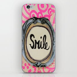 3 second smile iPhone Skin