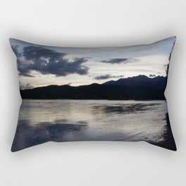 Athabasca River Rectangular Pillow