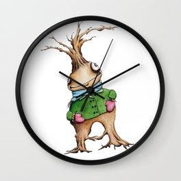 Christmas Sweater Tree 01 Wall Clock