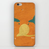 charizard iPhone & iPod Skins featuring Charizard by JHTY