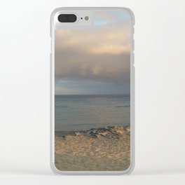 a view from the shore Clear iPhone Case