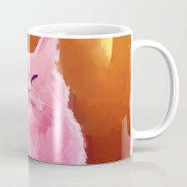 Pink Cat Coffee Mug