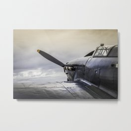 The Old Fighter Metal Print