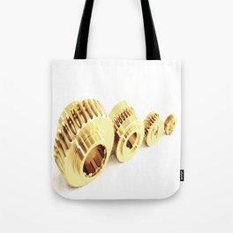 Bronze wormwheels Tote Bag