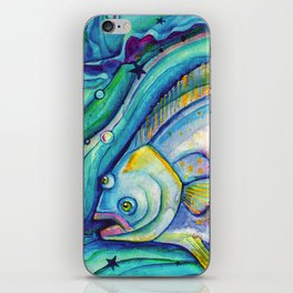 Halibut Dreaming iPhone Skin