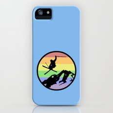 skiing 2 Slim Case iPhone (5, 5s)