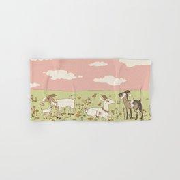 goat field Hand & Bath Towel