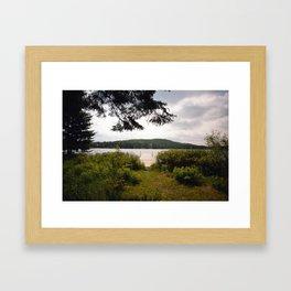 Lac Ménard Framed Art Print