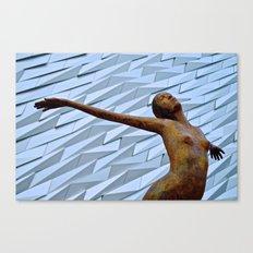 Titantic Art Canvas Print
