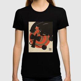 Kendama and cat T-shirt
