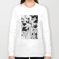 mike wrobel Long Sleeve T-shirts featuring Mike by vooduude
