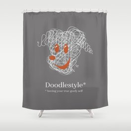 Doodlestyle Shower Curtain