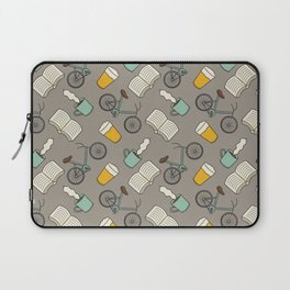 Bicycles, Books, Beer, and Coffee Laptop Sleeve