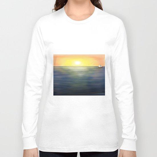 Sea Sun Long Sleeve T-shirt