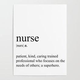 Nurse Definition Poster
