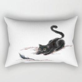 Tail Cat Rectangular Pillow