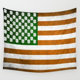 Irish American 015 Wall Tapestry