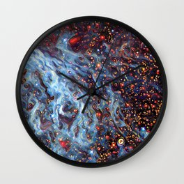 Painted Large Magellanic Cloud Wall Clock