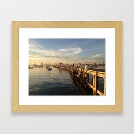 St Kilda Pier Framed Art Print