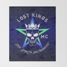Lost Kings MC Throw Blanket