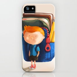 School Boy iPhone Case