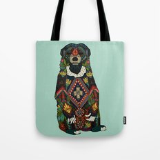 sun bear mint Tote Bag
