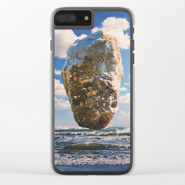 Edge Of Summer Clear iPhone Case