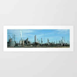 Factory for Bowie Art Print