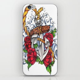 Anchors Away iPhone Skin