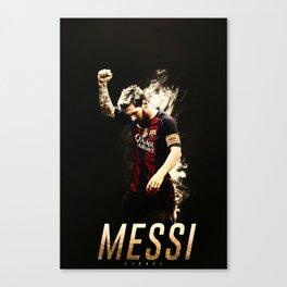 LionelMessi Poster Soccer Football Canvas Print